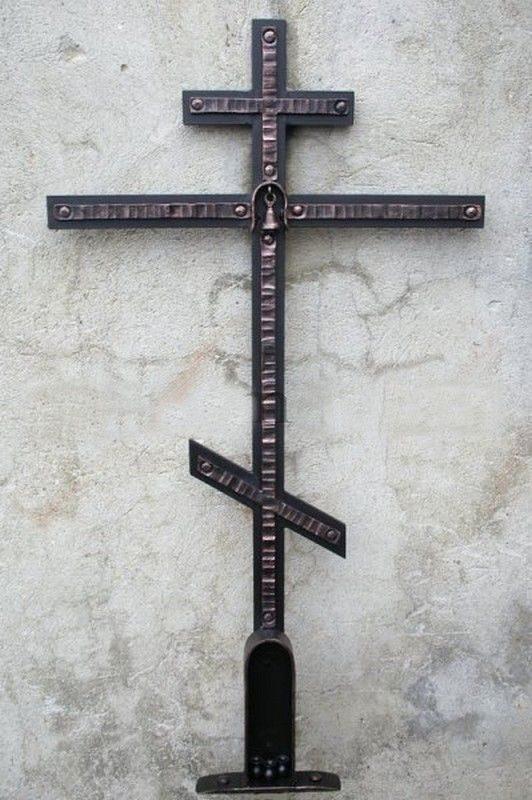 Кованый крест 12