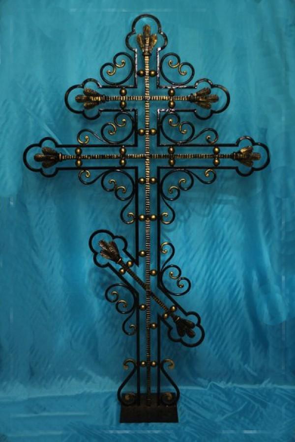 Кованый крест 3