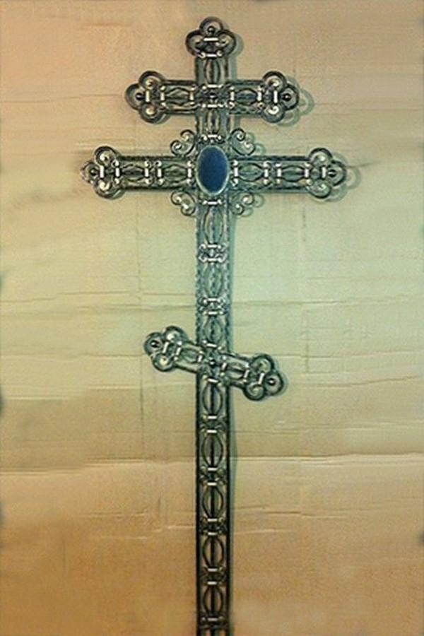 Кованый крест 9