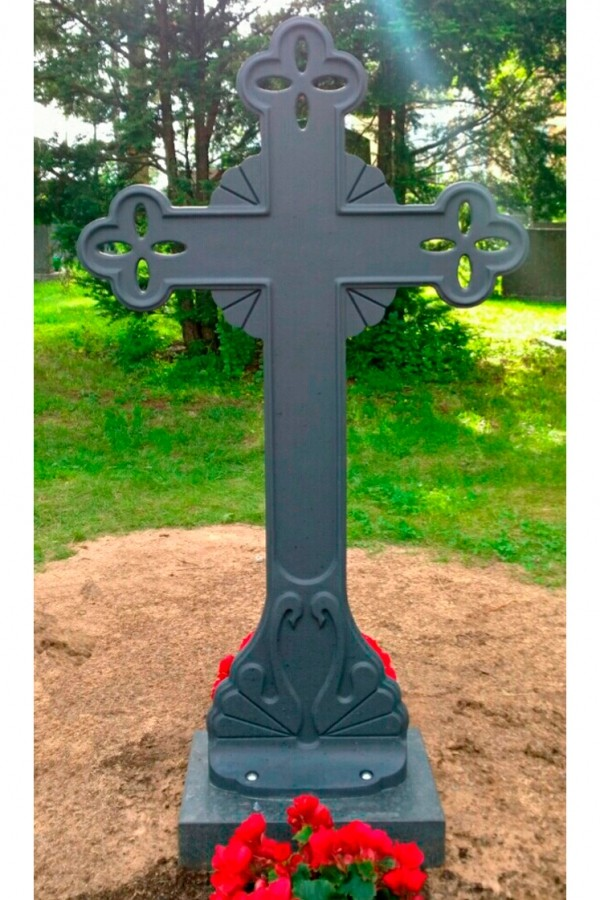 Кованый крест 11