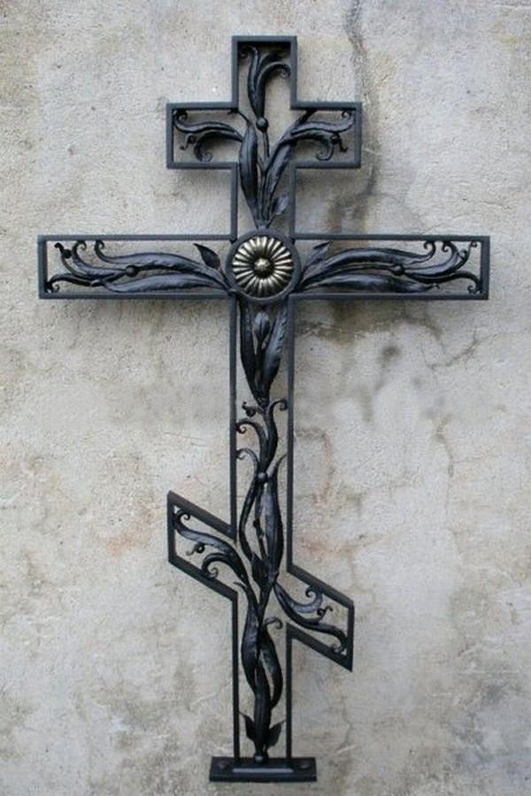 Кованый крест 13