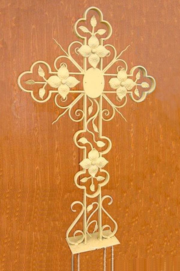 Кованый крест 15