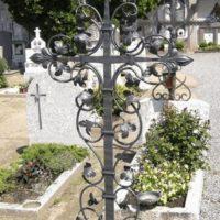 Кованый крест №18