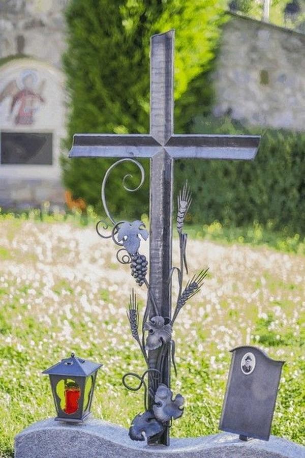 Кованый крест 20