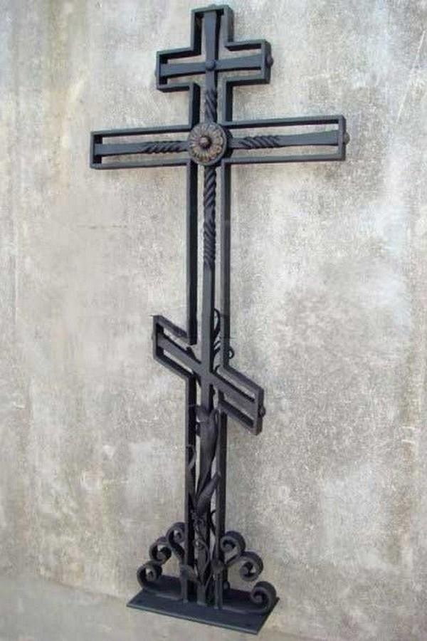 Кованый крест 28