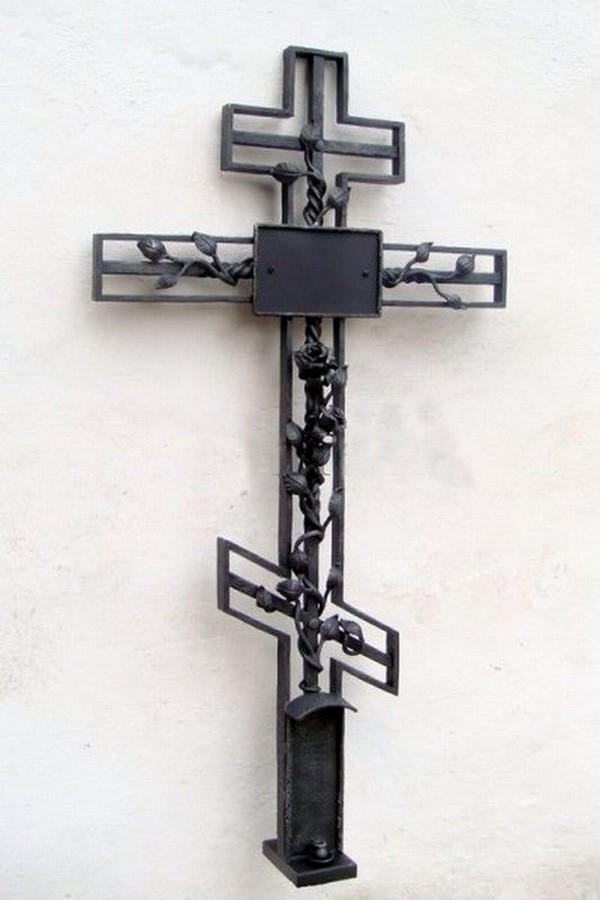 Кованый крест 29