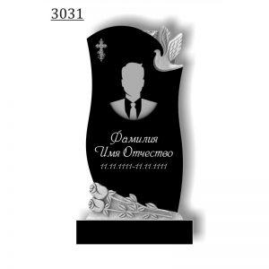 Резной памятник 3031