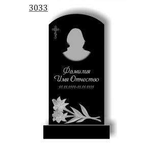 Резной памятник 3033