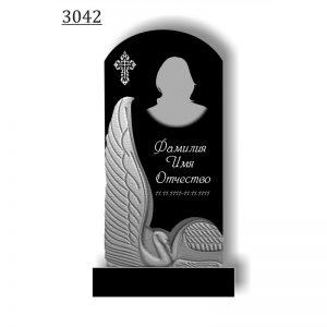 Резной памятник 3042