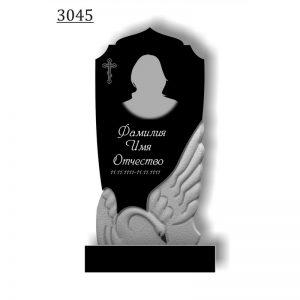 Резной памятник 3045