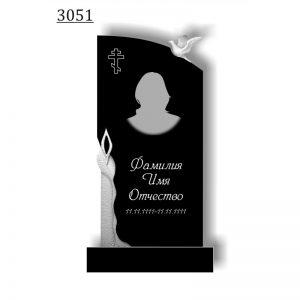 Резной памятник 3051